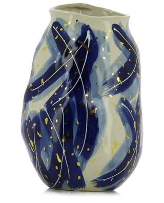 Vase irrégulier en céramique peinte KERSTEN