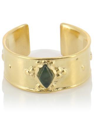 Ring aus Silbergold und Topas Thaïs ALIX D.REYNIS