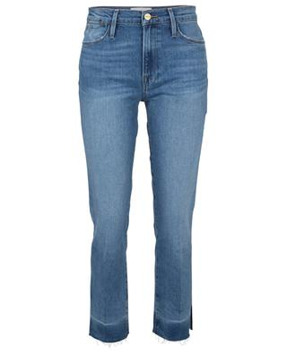 Jeans mit hoher Taille aus Biobaumwolle Le High Straight Imogen Dip FRAME