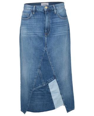 Le Midi Patch Work Cahill asymmetrical skirt FRAME