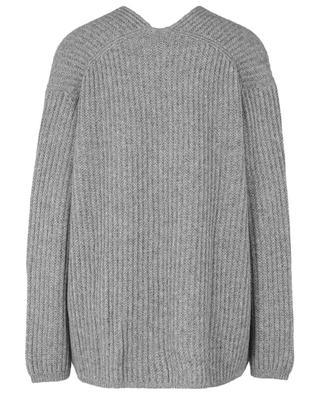 V-neck knitted cashmere jumper ALLUDE