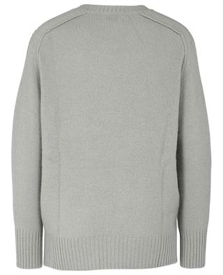 Round neck cashmere jumper ALLUDE