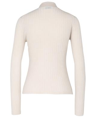 Ribbed cashmere high neck jumper ALLUDE