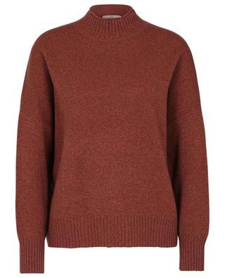 Pullover aus Kaschmir mit Stehkragen ALLUDE