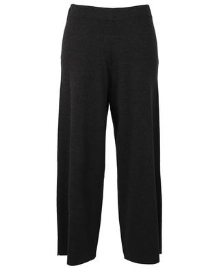 Cropped virgin wool track pants ALLUDE