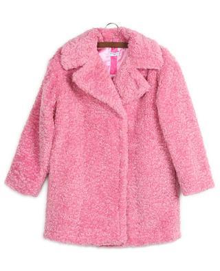 Manteau avec logo brodé MONNALISA