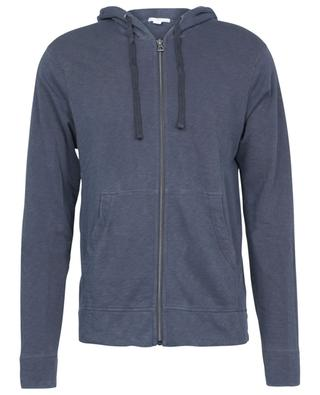 Vintage effect hooded sweat jacket JAMES PERSE