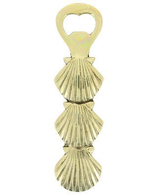 Shell brass bottle opener A LA
