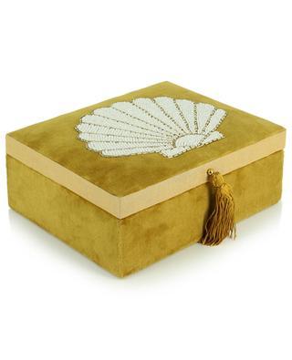 Velvet shell jewelry box A LA