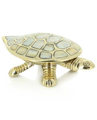 Messingschale in Schildkrötenform A LA