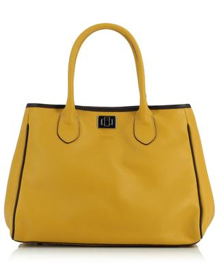 Ines grained leather tote bag BERTHILLE MAISON FRANCAISE