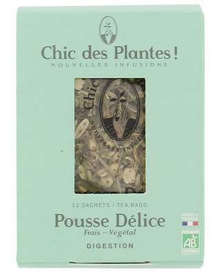 Pousse Délice organic herbal tea CHIC DES PLANTES !