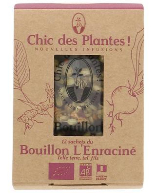 L'Enraciné organic broth CHIC DES PLANTES !