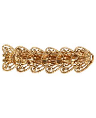 Kleine Haarspange aus ziseliertem goldenem Metall Aimée LA2L