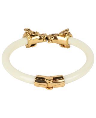 Aya Éléphant resin and golden brass bracelet LA2L