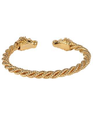 Goldenes Torc-Armband Aya Torsade Lion LA2L
