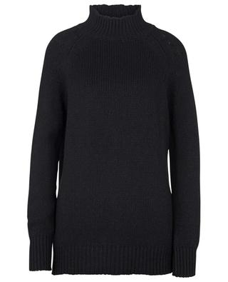 Layered mini knit dress in wool blend, lace and tulle ERMANNO SCERVINO