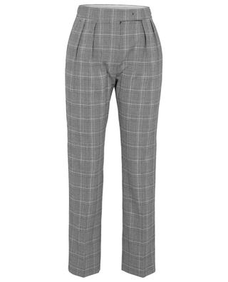 Fibra straight fit glen check trousers MAX MARA