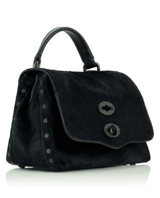 Postina Baby Linea Flirt Bagheera small pony leather handbag ZANELLATO