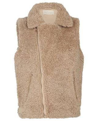 Dolly faux shearling vest MES DEMOISELLES
