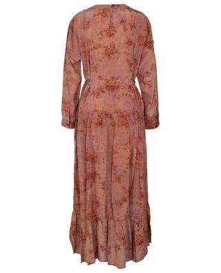 September long Wglossy printed dress MES DEMOISELLES