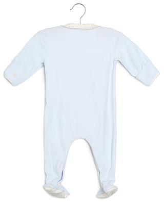 Dors-bien en velours de coton bio en jersey étoilé Lab PETIT BATEAU