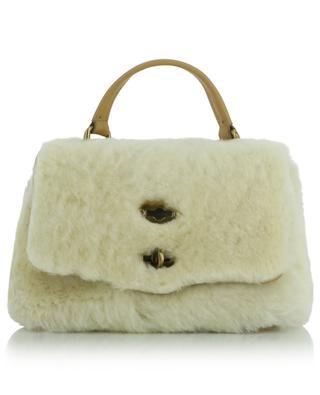 Kleine Handtasche aus Schafspelz Postina Baby Linea Dolomiti ZANELLATO