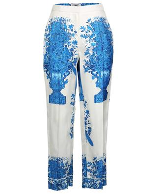 Bluegrace Reedition pyjama spirit floral twill trousers VALENTINO