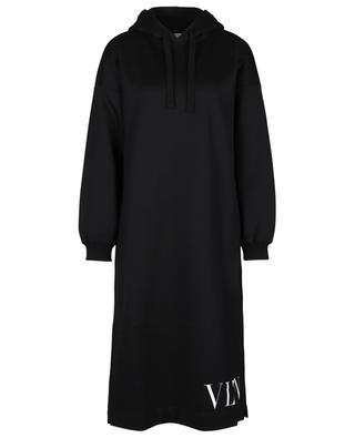 VLTN printed hooded midi sweat dress VALENTINO