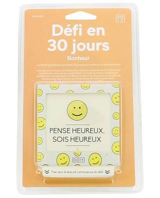 Papier-Spiel 30-Tage-Challenge Bonheur DO IY