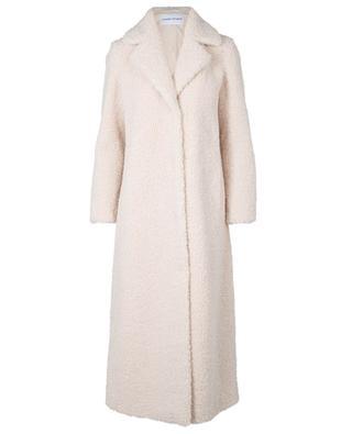 Kylie long fake fur teddy coat STAND STUDIO