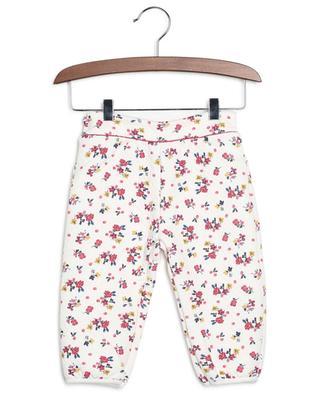 Pantalon fleuri en jersey texturé épais Layza PETIT BATEAU