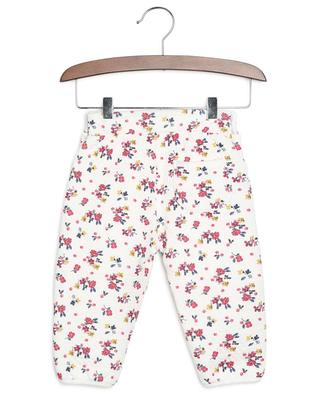 Layza thick textured floral jersey trousers PETIT BATEAU