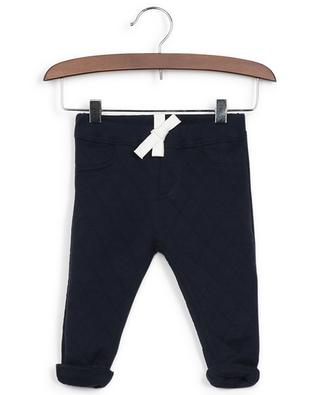 Cotton fleece trousers PETIT BATEAU