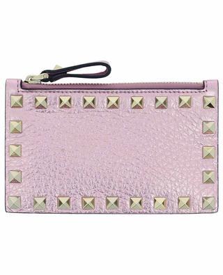 Rockstud pink card-holder VALENTINO