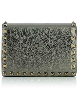 Rockstud textured leather mini bag VALENTINO