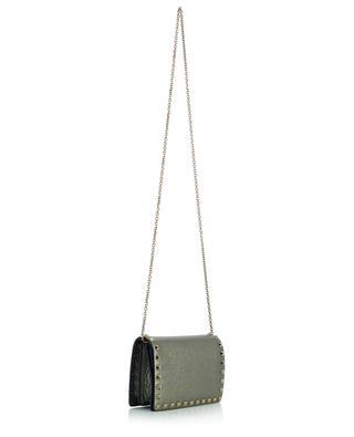 Mini sac en cuir texturé Rockstud VALENTINO