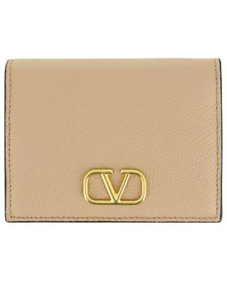 VLOGO Signature grainy calfskin leather wallet VALENTINO