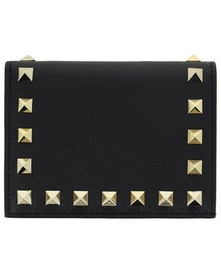 Brieftasche aus Leder Rockstud VALENTINO