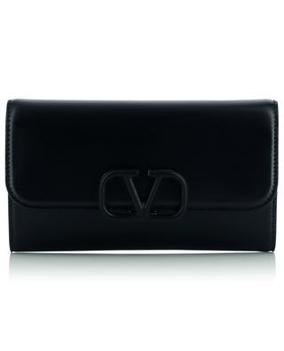 VSLING smooth calfskin leather clutch VALENTINO