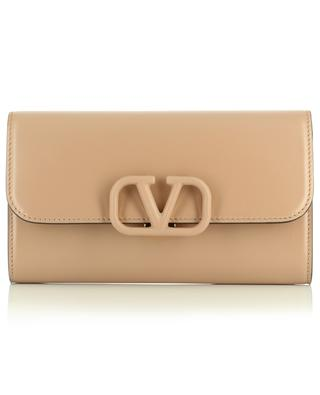 VSLING smooth calfskin leather clutch VALENTINO