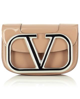 Handtasche aus Lackleder VLOGO VALENTINO
