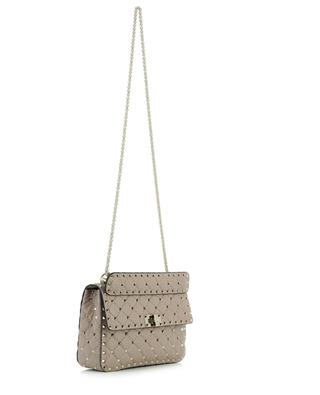 Rockstud Spike Medium quilted nappa leather shoulder bag VALENTINO