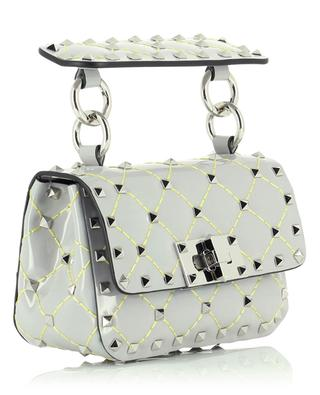 Rockstud micro patent leather bag VALENTINO