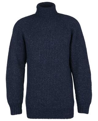 Cotton, wool, alpaca and cashmere turtle neck jumper OFFICINE GENERALE
