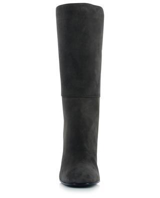 Dora heeled embroidered suede boots FABIANA FILIPPI