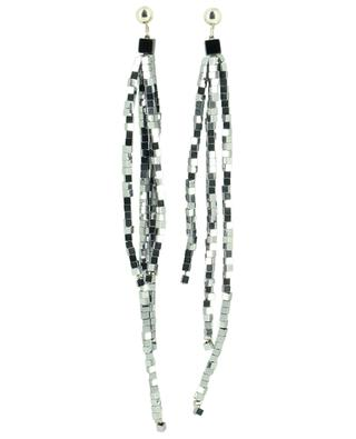 Dangling glass stone ear studs FABIANA FILIPPI