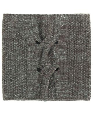 Sequin embroidered snood in wool and cashmere FABIANA FILIPPI