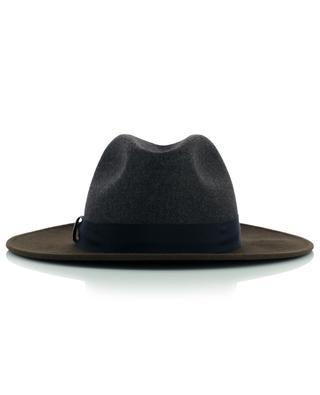 Fedora-Hut aus glitzerndem Wollfilz FABIANA FILIPPI