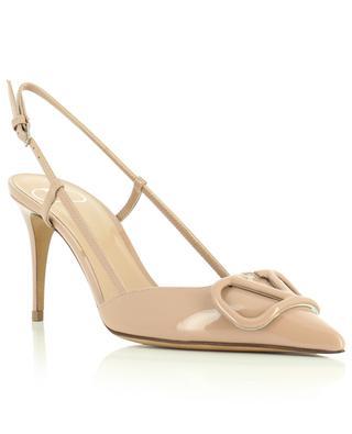 VLOGO stiletto heels leather pumps VALENTINO